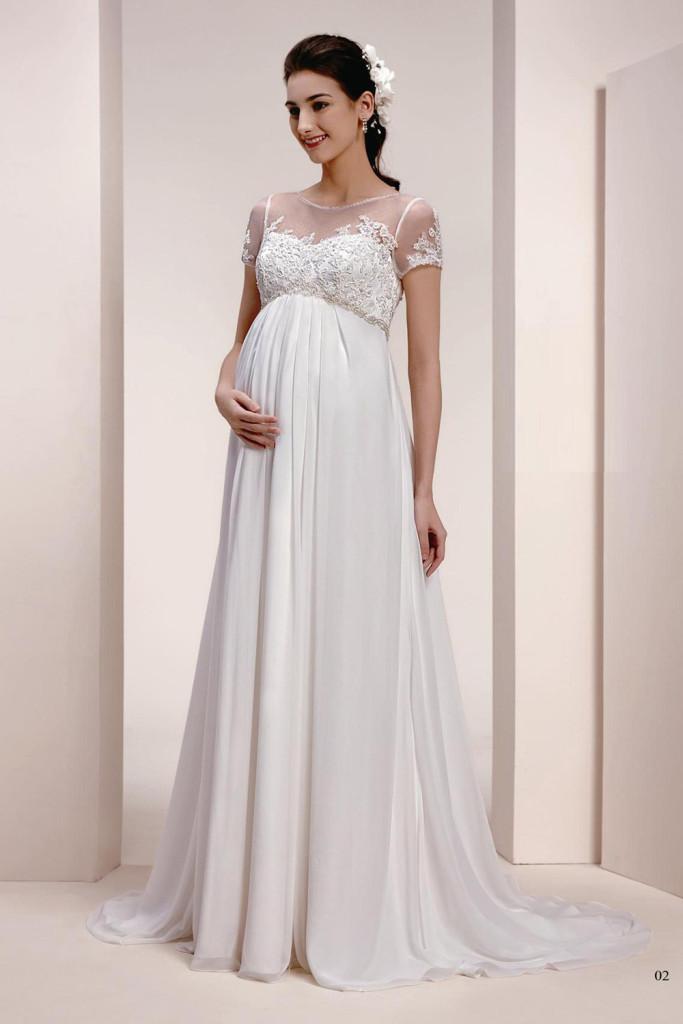 Umstandskleider-Brautkleid