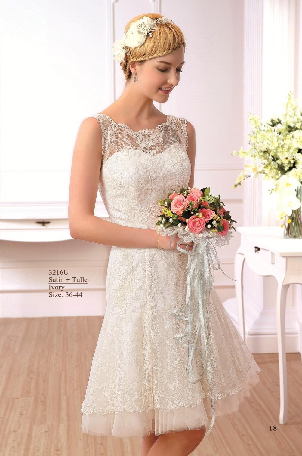 Kurze Brautkleider › Sabines Brautmode