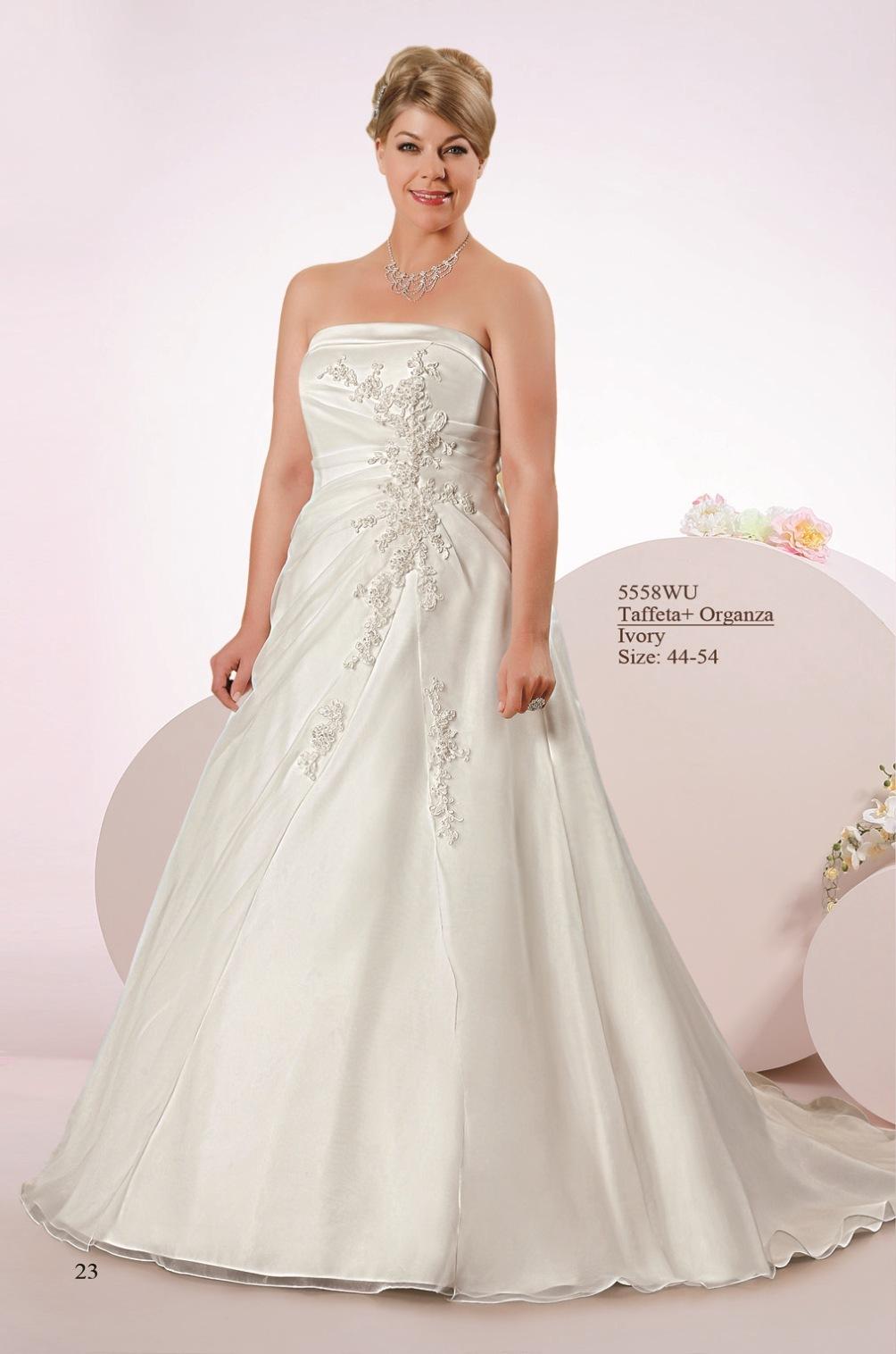 Brautklieder Größere Größen › Sabines Brautmode